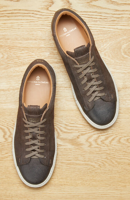 Leather sneakers , Officina Slowear   Slowear