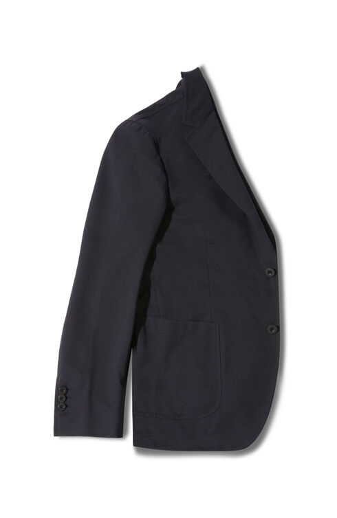 Single-breasted unlined jacket in water repellent Tech Mesh fabric , Slowear Teknosartorial | Slowear
