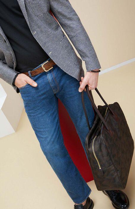 Pantalone Slim Fit Denim Stretch , Incotex - Cinque Tasche | Slowear