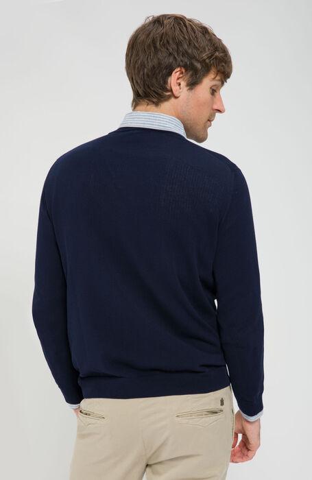 Rollneck Sweater in Cotton Crêpe , Zanone | Slowear