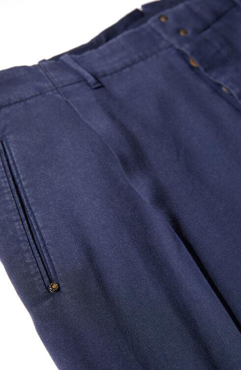 Hose Slim Fit aus Flanell , Incotex - Verve | Slowear