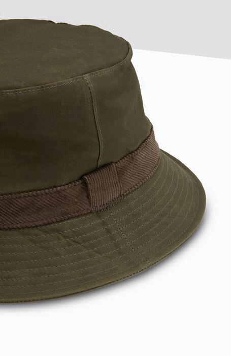 Green cotton Bucket hat , Cableami   Slowear