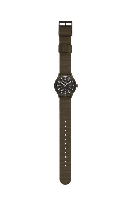 MK1  36mm Military inspired Grosgrain Strap Watch , Timex   Slowear