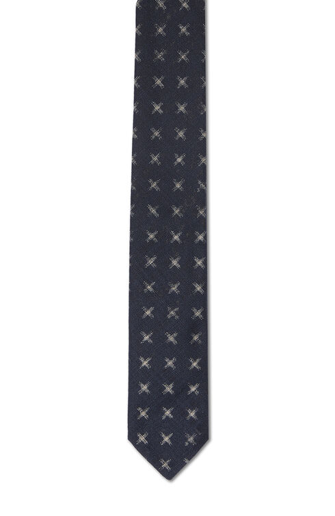 Printed cotton tie , Officina Slowear   Slowear