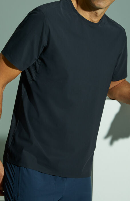 Stretch cotton T-shirt , Isaora | Slowear
