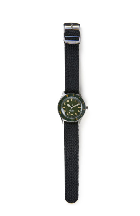 Automatic diving watch with stainless steel case , Undone   Slowear