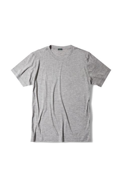 Regular fit short sleeve wool jersey T-shirt , Zanone | Slowear