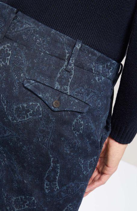 Stretch denim slim fit cotton trousers , Incotex - Verve | Slowear