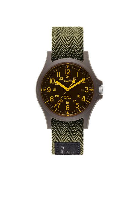 Acadia 40Mm Fabric Strap Watch , Timex | Slowear