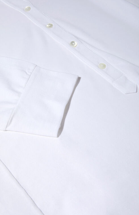 Short sleeve regular fit IceCotton polo shirt , Slowear Zanone   Slowear