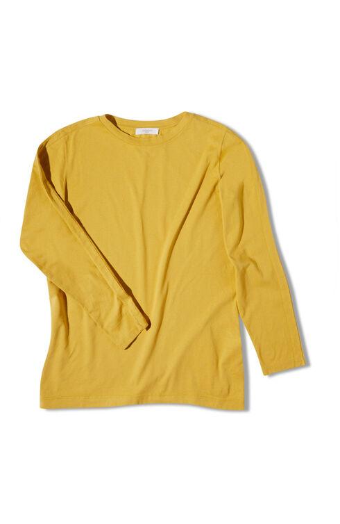 Oversized crewneck in cotton jersey , Slowear Zanone | Slowear