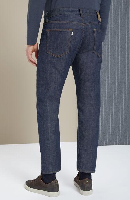 Slim-fit stretch denim trousers , Incotex - Cinque Tasche | Slowear