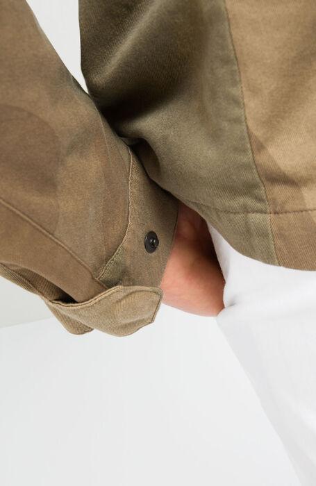 Solex Technical Jacket in Camouflage Cotton , Montedoro   Slowear