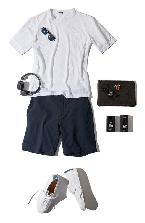 Short-sleeve regular-fit Ice Cotton T-shirt , ZANONE Icecotton   Slowear