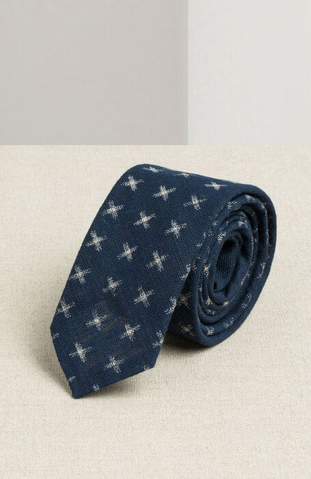 Printed cotton tie , Officina Slowear | Slowear
