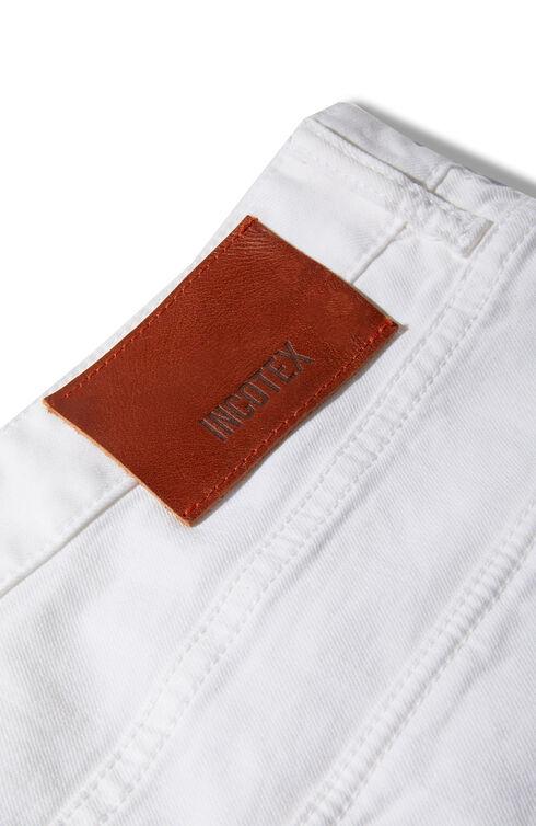Slim Fit Five-Pocket Cotton Bull Trousers , Incotex - Slacks | Slowear