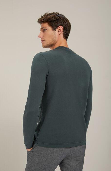 Long-sleeved cotton jersey Interlock T-shirt , Zanone | Slowear