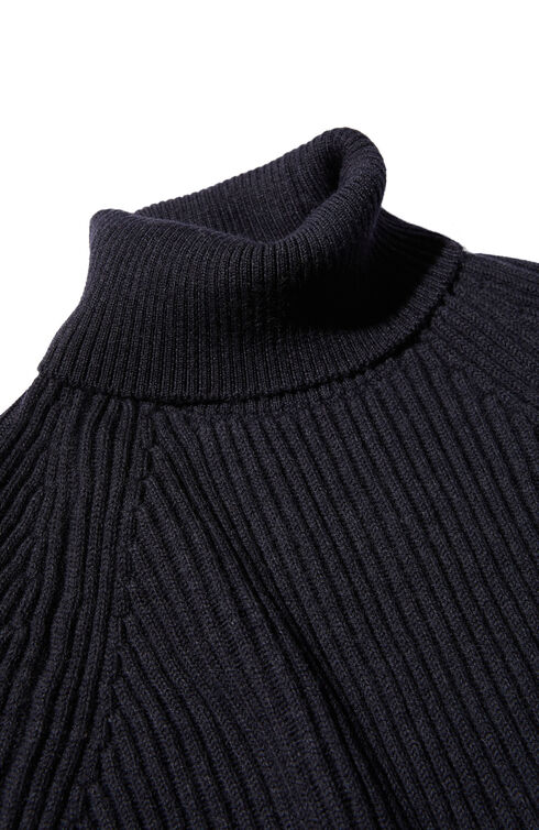 Regular fit merino wool turtleneck sweater , Zanone   Slowear