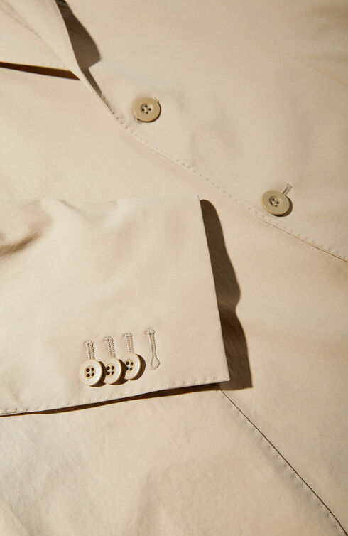 Single-breasted unlined Tekno Gab jacket , Urban Traveler | Slowear