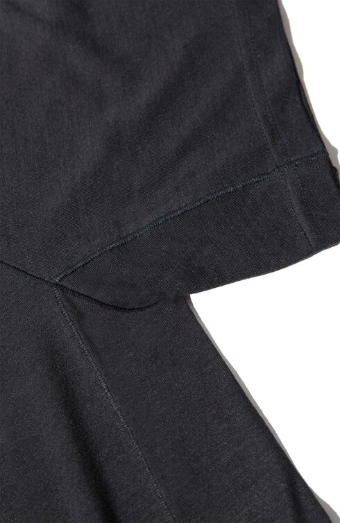 Tshirt in technical fabric and extrafine merino wool blue , Norse Projects | Slowear