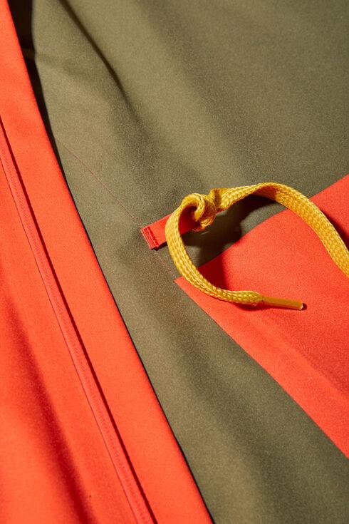 Orange waterproof technical fabric jacket , PH Apparel | Slowear