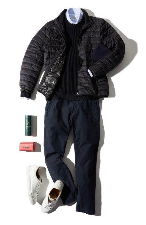 Slim fit stretch Tricochino trousers , Incotex - Slacks   Slowear