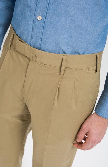 Walnut Slim Fit Stretch Cotton Trousers , Incotex - Venezia 1951   Slowear