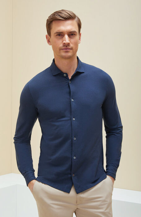 Blue IceCotton shirt , Zanone | Slowear