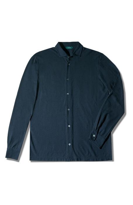 Blue Ice Cotton shirt , ZANONE Icecotton | Slowear
