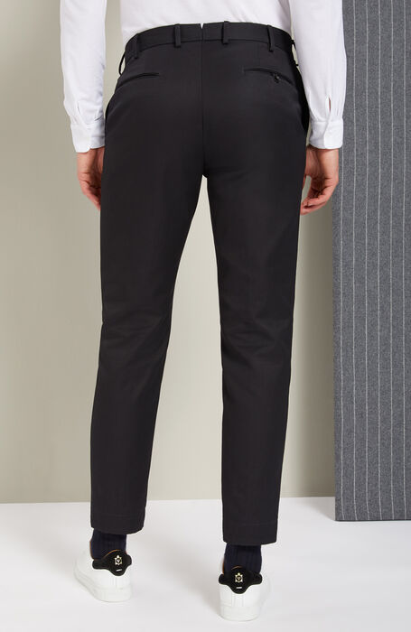 Pantalone tapered fit in Officer Chino , Incotex - Verve | Slowear