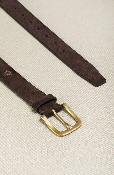 Cintura in vitello ricamata , Officina Slowear | Slowear