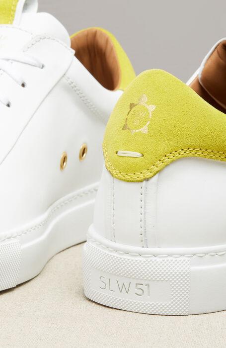 Sneakers Bianche in Pelle e Camoscio , Officina Slowear | Slowear