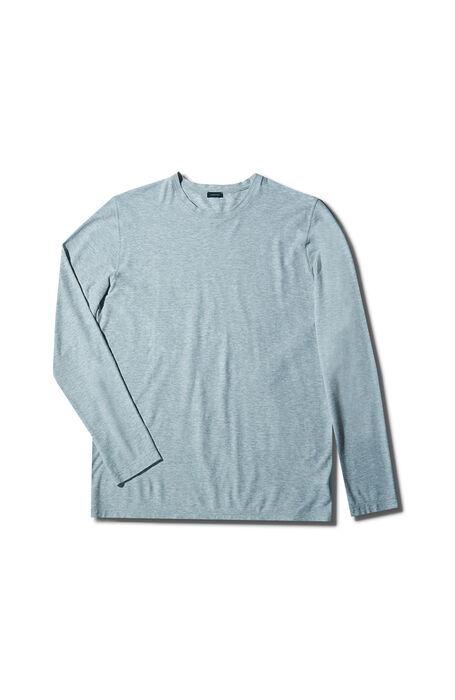 Grey short-sleeved Ice Cotton fil-a-fil T-shirt , Zanone | Slowear