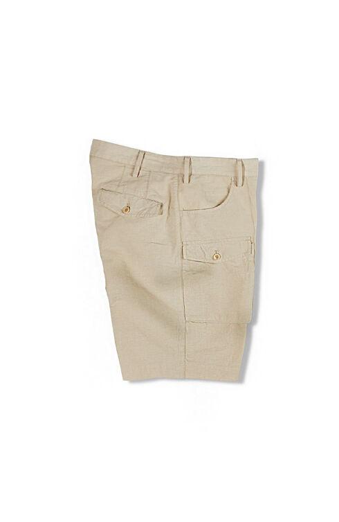 Cargo Bermuda Shorts in Cotton and Linen , Incotex - Venezia 1951   Slowear